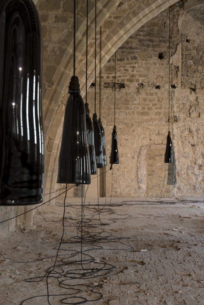 Javier Pérez, Lamentaciones, 2007, abbaye de Lagrasse 2016, IN SITU 2016, Photo © David Huguenin