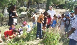 Jardin de l'école élémentaire Galilée