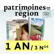 Patrimoines en région, abonnement 1 an