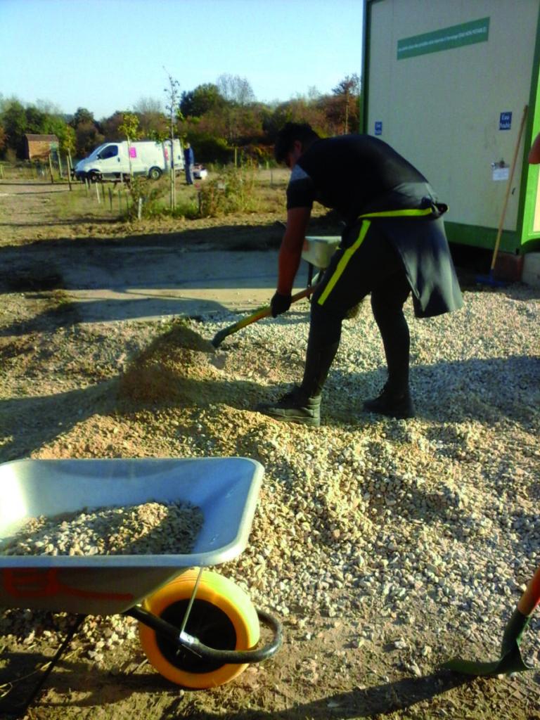 Amenagement des jardins en Cèze 2017 (1)
