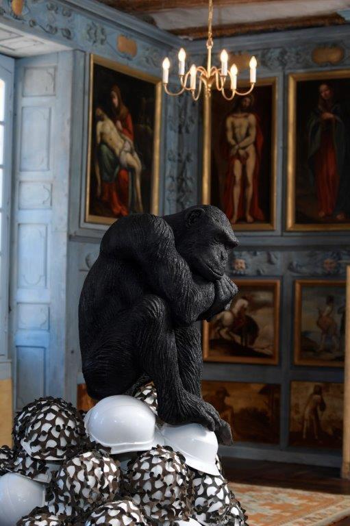 Victoria Klotz aux salons du collège-séminaire du Puy, Figeac ; Sans titre, 2011 ; courtoisie de l'artiste ; photo © Luc Jennepin